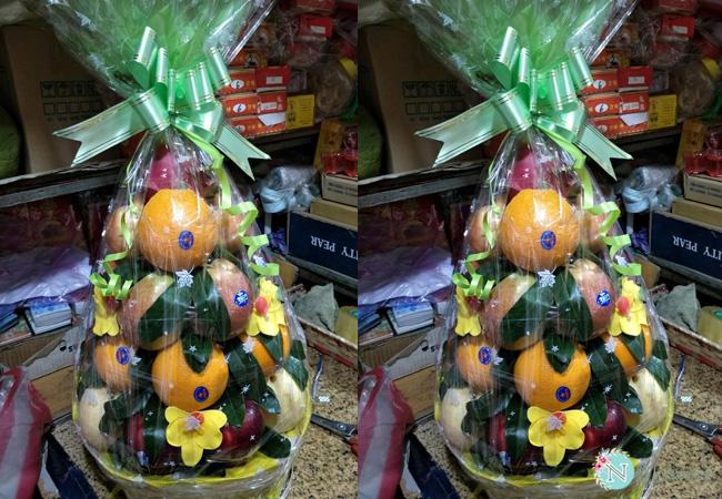 Giỏ trái cây tang lễ 5